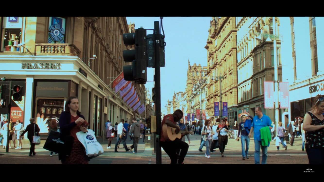 Mile Away Films music video image: Bad man
